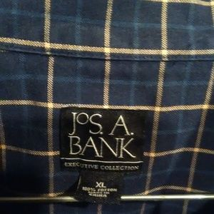 Jos. A. Bank Shirts - Jos A Banks Plaid button down mens long sleeve
